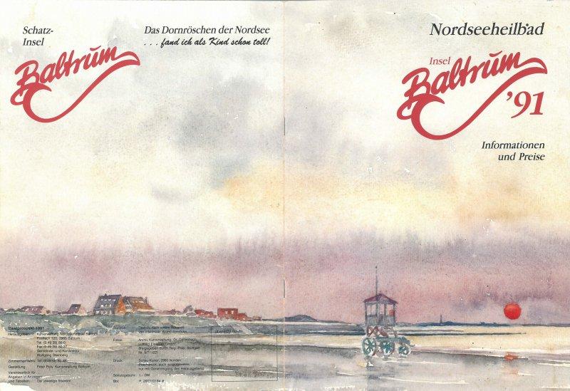 Der Baltrumer Badeturm :: Baltrum-Online.de